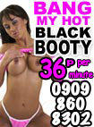 Black Sluts Phone Sex -35p